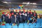Темп на матче ЮАР - Уругвай
