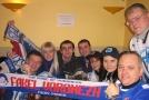 После матча, местный фан-клуб решил продолжить с нами встречу в тесном общении