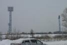 Там же находился и местный стадион.