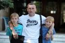 Александр Черкес с сыновьями