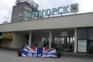 На привокзальной площади в Пятигорске