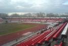 Стадион незадолго до матча