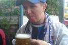 Дмитрий потягивает пивко