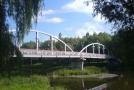 Пешеходный мост в парке Белгорода