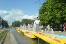 Стас осваивает Белгородские фонтаны