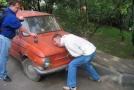 Любовь к иностранным авто не давала покоя...