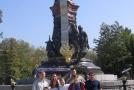 У памятника ЕкатеринеII