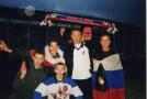 Перед матчем сборных Россия  - Украина 1999