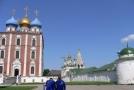 Факела на территории Кремля