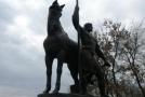 Памятник первому жителю Пензы