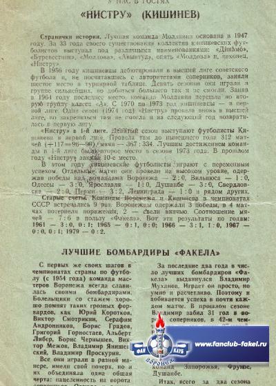 Факел-Нистру(Кишинев)