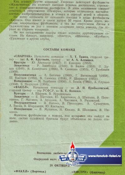 Факел-Спартак(Нальчик)